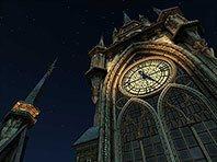 Clock Tower 3D screensaver screenshot. Click to enlarge