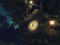 Cuckoo Clock 3D screensaver screenshot. Click to enlarge