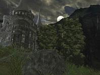 Dark Castle 3D screensaver screenshot. Click to enlarge