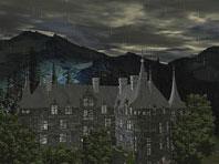 Dunkler Schloss 3D Bildschirmschoner Screenshot. Klicken zum Vergrößern.