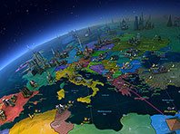 Earth 3D screensaver screenshot. Click to enlarge
