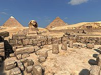 Great Pyramids 3D screensaver screenshot. Click to enlarge