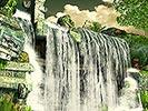 Moving Mayan Waterfall