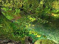 Nature 3D screensaver screenshot. Click to enlarge