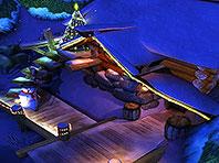 Santa's Home 3D screensaver screenshot. Click to enlarge