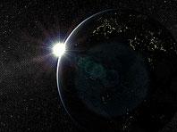 Sonnensystem - Erde 3D Bildschirmschoner Screenshot. Klicken zum Vergrößern.