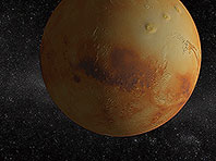 Solar System - Mars 3D screensaver screenshot. Click to enlarge