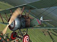 Vintage Aircraft 3D screensaver screenshot. Click to enlarge